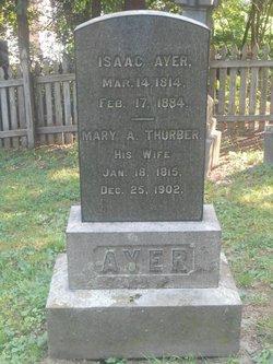 Mary A. <I>Thurber</I> Ayer