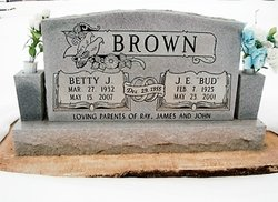 "Joseph Earl ""Bud"" Brown"