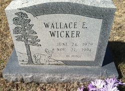 Wallace E Wicker