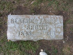 Beatrice <I>Farrell</I> Brown