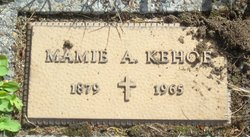 Mamie A Kehoe