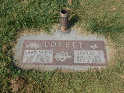 Shirley Alice <I>Tibbs</I> Lovett