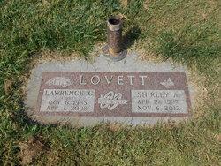 """Lawrence Gilmore """"Tony"""" Lovett"""