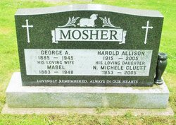 Mabel <I>Jamison</I> Mosher
