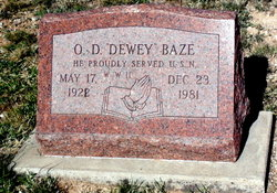 Oliver Dewey Baze