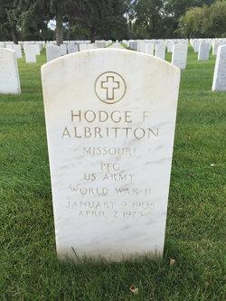 Hodge F Albritton