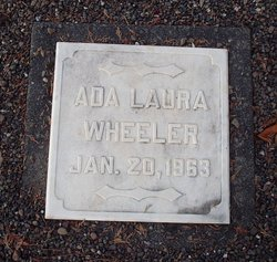 Ada Laura <I>Handy</I> Wheeler