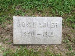 Rosie <I>Epstein</I> Adler
