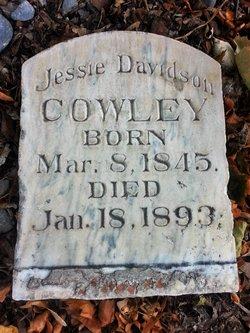 Jessie <I>Davidson</I> Cowley