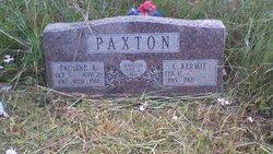 Pauline Katherine <I>Johnson</I> Paxton