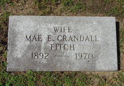 Mae E <I>Crandall</I> Fitch