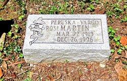 Peruska Rose <I>Vargo</I> Martin