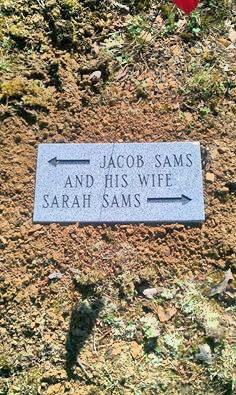 Sarah <I>York</I> Sams