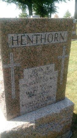 Mary <I>Exon</I> Henthorn