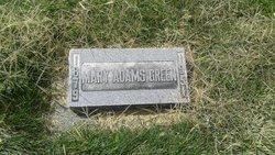 Mary Eliza <I>Adams</I> Green