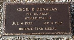 Cecil R Dunagan