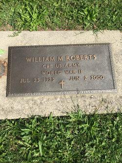 William M Roberts