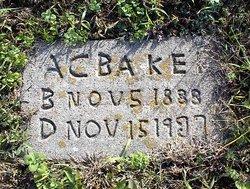 A C Baker