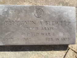 Benjamin A. Blewett