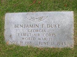 Benjamin Franklin Duke Jr.