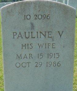 Pauline V Culver