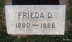 Frieda D Pettygrove