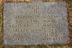 Leonard Ralph Jones