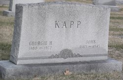 Georgie <I>Hower</I> Kapp
