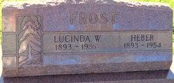 "Lucinda Henrietta ""Louie"" <I>Wilson</I> Frost"