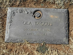 Ola <I>Sharp</I> Baccus
