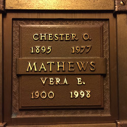 Chester Ora Mathews