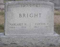Sarah Margaret <I>Hower</I> Bright