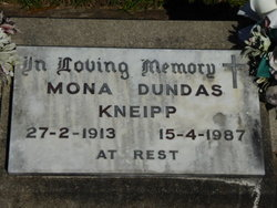 Mona Dundas <I>Woolnough</I> Kneipp