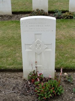 Private Alexander A Mitchell