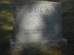 Emily George <I>Phelps</I> Buck