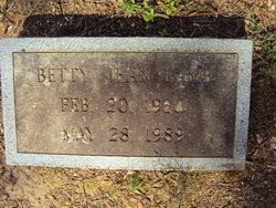 Betty Jean Lamb