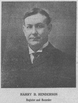 Harry Brinton Henderson