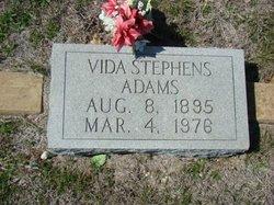 Vida Selma <I>Moffett</I> Adams