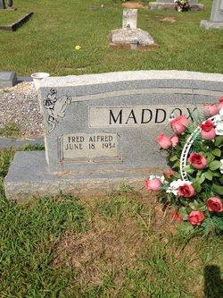 Fred Alfred Maddox