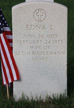 Edna Louise <I>Jacobson</I> Biedermann