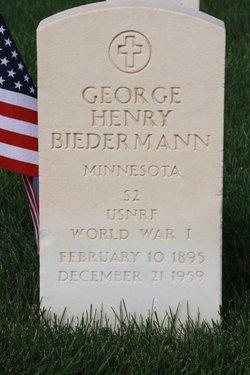 George Henry Biedermann