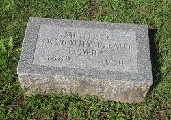 Dorothy <I>Grant</I> Lowry