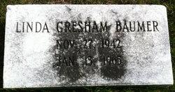 Linda <I>Gresham</I> Baumer