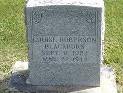 Louise <I>Roberson</I> Blackburn