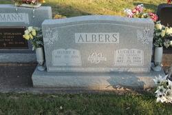"Lucille Helen ""Lu"" <I>Toennies</I> Albers"