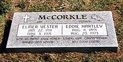 "Edna ""Eddie"" <I>Hartley</I> Mccorkle"