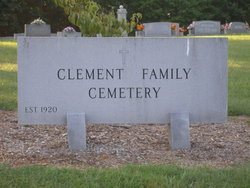 Ralph Alexander Clement Family Cemetery