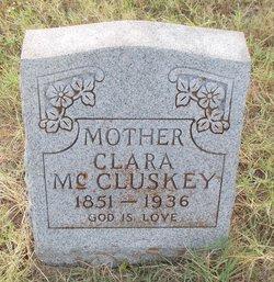 Clara <I>Mull</I> McCluskey