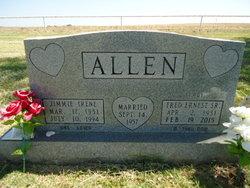 Jimmie Irene <I>Shelton</I> Allen