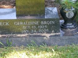 Geraldine <I>Eibeck</I> Broin